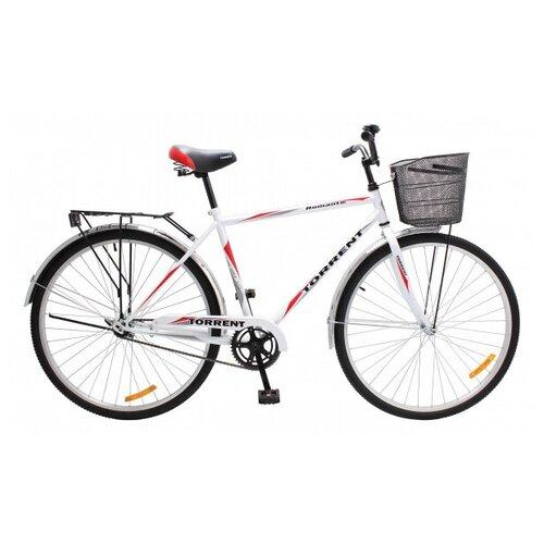 Велосипед Torrent Romantic + корзина, белый