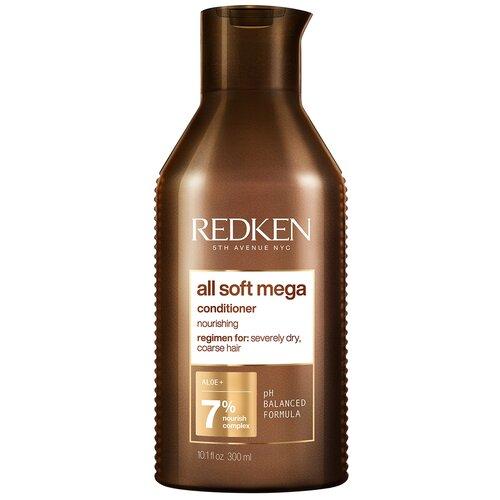 Фото - Redken кондиционер для питания и смягчения волос All Soft, 300 мл шампунь для волос redken all soft 300 мл