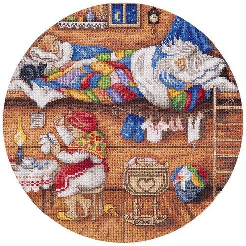 Купить Набор для вышивания крестиком PANNA Домовой-в семье покой! (SO-1838), Наборы для вышивания