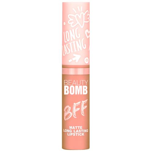 BEAUTY BOMB Жидкая помада для губ, оттенок 01 Pijama Party beauty bomb консилер стик двухцветный my bomb concealer stick duo colors оттенок 01