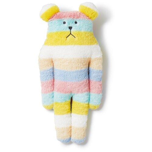 C1583-20 Colorful CONFETTI BORDER SLOTH, S / Игрушка мягконабивная, изображающая Медведя