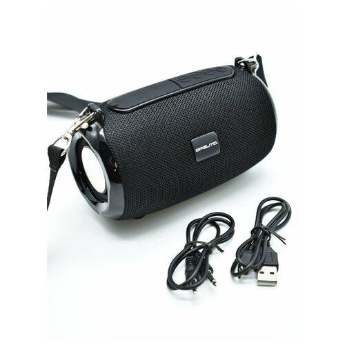 Колонка Bluetooth, FM радио, USB плеер, защита от воды, ткань