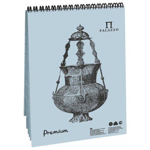 Фото - Скетчбук для пастели Лилия Холдинг Premium Bluemarine 29.7 х 21 см (A4), 160 г/м², 30 л. блокнот для пастели лилия холдинг blackberry 21 х 14 8 см a5 160 г м² 30 л