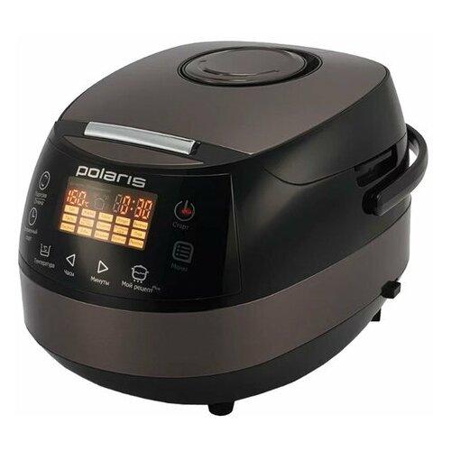 Мультиварка POLARIS PMC 0517AD/G 860 Вт 5 л 15 программ таймер сенсорное управление черная/коричневая 1 шт.