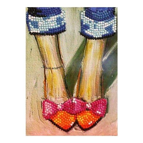 Купить Алмазная мозаика Моей подруге - Алмазная открытка, картина стразами Color KIT 13x18 см., Алмазная вышивка