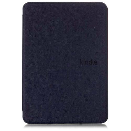 Чехол-обложка футляр MyPads для Amazon Kindle Paperwhite 1/ 2/ 3 (2012/ 2013/ 2015) из качественной эко-кожи тонкий с магнитной застежкой черный