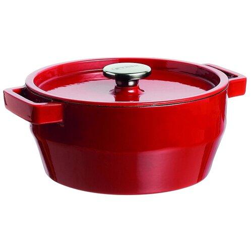 Кастрюля Pyrex SlowCook, 6.3 л, красный