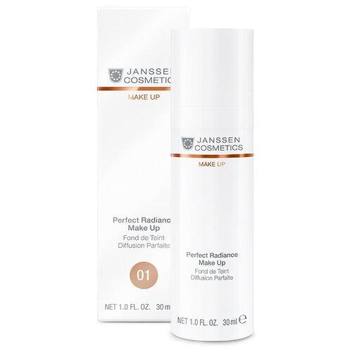 Janssen Cosmetics Тональный крем Perfect Radiance Make Up, 30 мл, оттенок: 01 Порцелан недорого