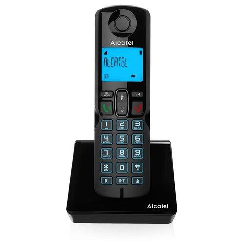 Радиотелефон ALCATEL S250 RU BLACK