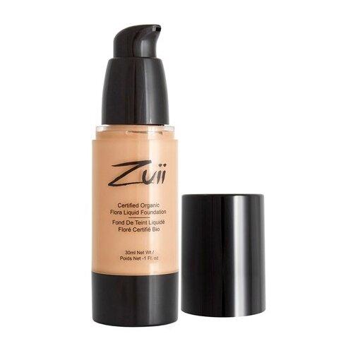 Zuii Organic Тональный крем Certified organic flora liquid foundation, 30 мл, оттенок: natural bisque  - Купить