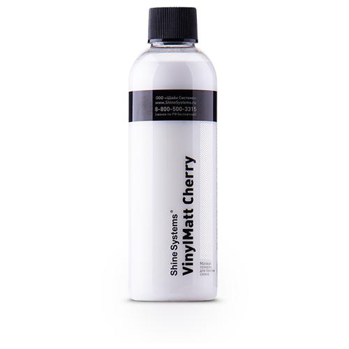 Shine Systems VinylMatt Cherry - матовый полироль для пластика салона, 200 мл