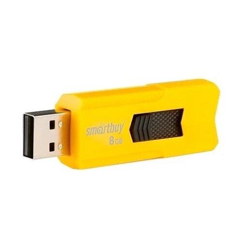 USB Флеш-накопитель Smartbuy STREAM 8 Гб оранжевый-черный