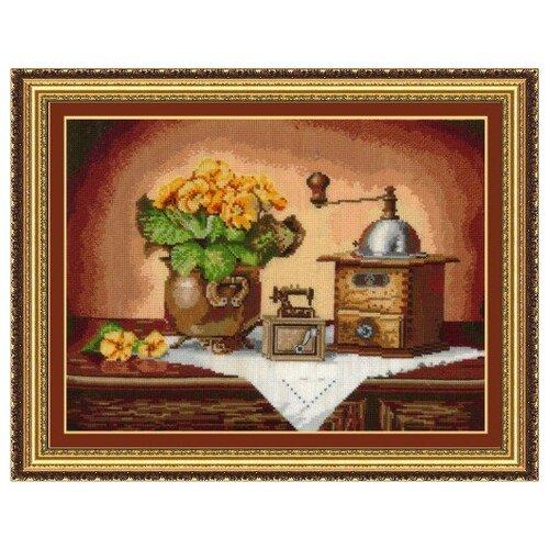 Набор для вышивания Сделай своими руками ССР.К-14 Кофемолка 37х27 см