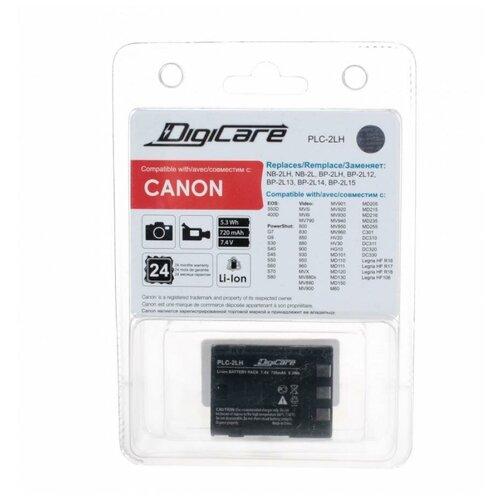Аккумулятор DigiCare PLC-2LH / NB-2LH / EOS350D, 400D, PowerShot G7, G9, S50, S60, S70, S80