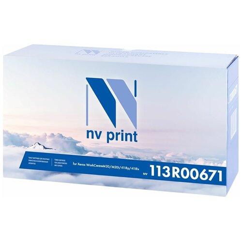 Тонер-картридж NV Print 113R00671, черный, для лазерного принтера, совместимый