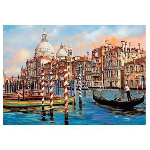 Пазл Trefl 1000 деталей: Полдень в Венеции - Гранд-канал пазлы 1000 деталей сладости в венеции