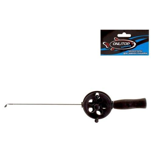 Удочка зимняя, фибергласс, с неопреновой ручкой, 35 см 806222