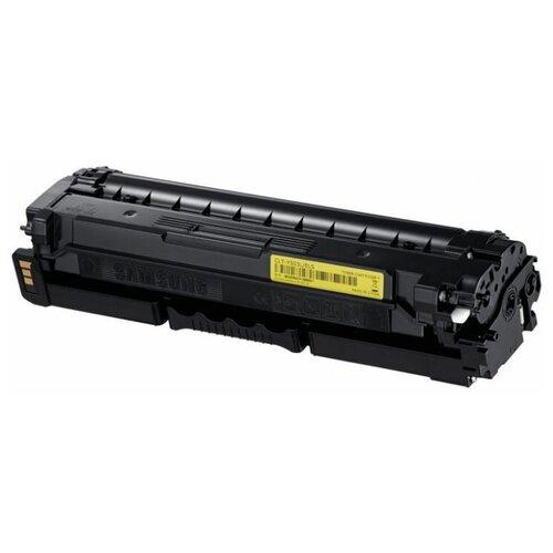 Фото - Картридж лазерный Samsung CLT-Y503L/SEE, yellow картридж samsung clt k409s see