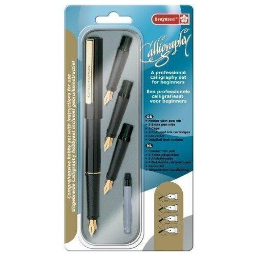 Купить Набор для каллиграфии Bruynzeel стартовый 8 предметов 60344008, Фломастеры и маркеры