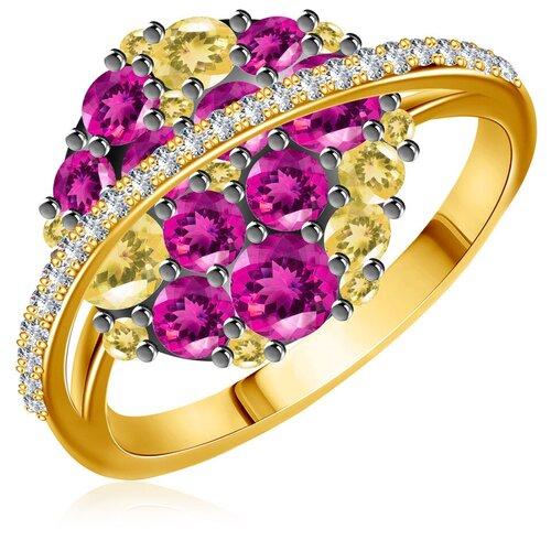 Бронницкий Ювелир Кольцо из желтого золота юаR13299RHO, размер 17