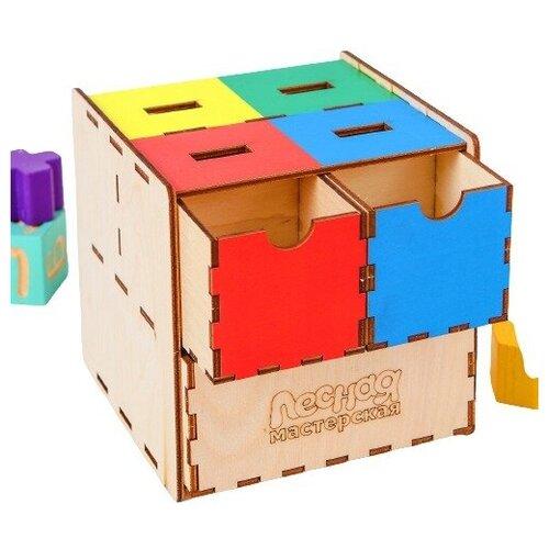 Фото - Сортер Умный куб 3740007 сортер лесная мастерская умный малыш 3131016