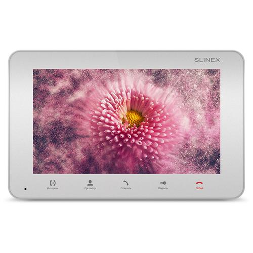 Видеодомофон SLINEX SM-07MN Silver