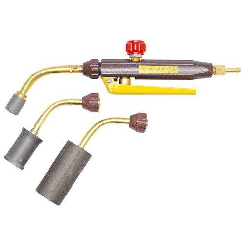 Фото - Газосварочная горелка инжекторная ДОНМЕТ ГВ 254 газосварочная горелка инжекторная донмет гзу 247