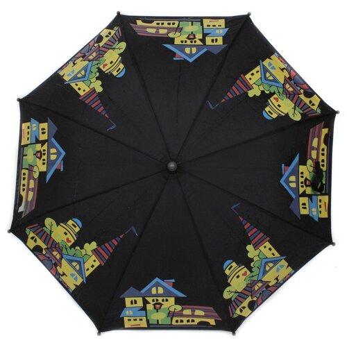 Зонт детский Flioraj, 051207 FJ черный