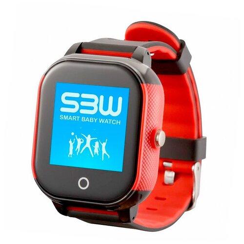 SmartBabyWatch Детские умные часы с GPS Smart Baby Watch SBW WS RU (черные) умные часы smart watch w8