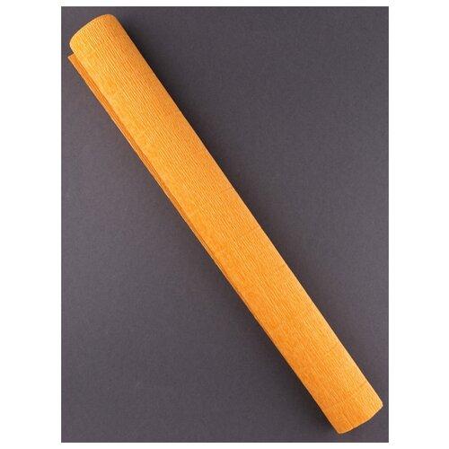 Купить Бумага гофрированная 50см х 2, 5м., 180г/м., Cartotecnica Rossi, 610 охра, Цветная бумага и картон