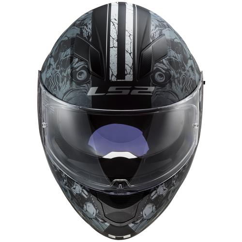 Шлем LS2 FF320 STREAM EVO THRONE (S, Matt Black Titanium)