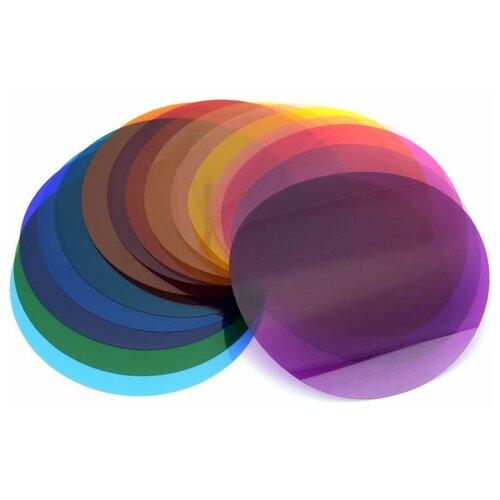 Фото - Набор цветных светофильтров Godox V-11C для круглой головки кейс для светофильтров hakuba kcs 35 yellow