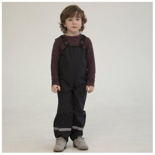 Купить Полукомбинезон Orlan GR01B1 размер 122-128, черный, Полукомбинезоны и брюки