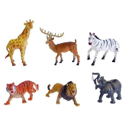 Купить Набор животных Загадочный мир животных , 6 фигурок 4343387, Сима-ленд, Игровые наборы и фигурки