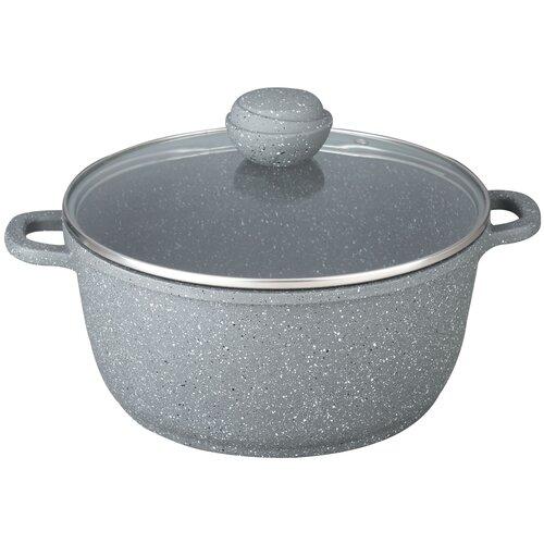 Кастрюля Bekker BK-3817, 7.5 л, серый кастрюля bekker bk 1595 premium 7 3 л