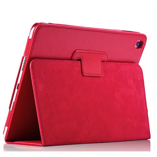 Чехол-книжка MyPads для iPad 9.7 2017 (A1822 / A1823 / A1833) с трансформацией в подставку красный
