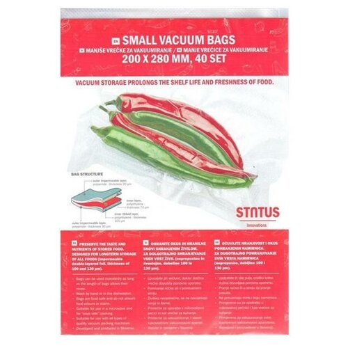 Пакеты для вакуумного упаковщика STATUS VB 20*28-40