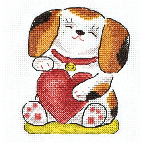 Купить PANNA Набор для вышивания Любовь и верность 11 х 13 см (I-1022), Наборы для вышивания