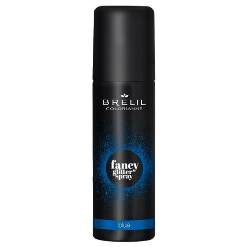 Купить Brelil Professional Fancy Glitter Spray спрей-блеск для волос Blue, 75 мл