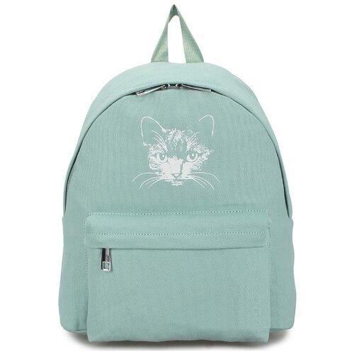 Текстильный рюкзак «Мяусон» 472 Turguoit
