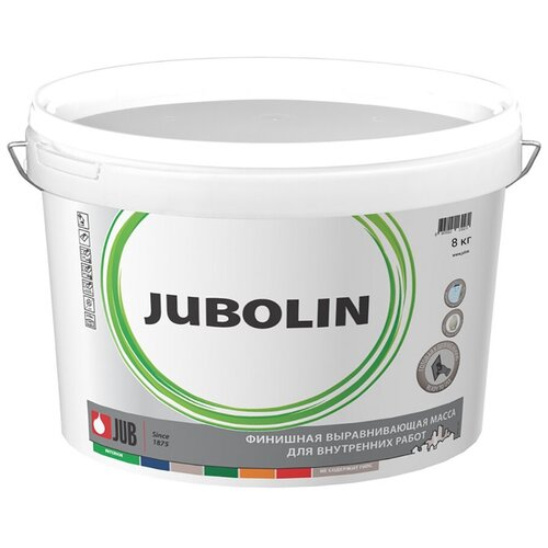 Шпатлевка для внутр. Работ JUBOLIN 8 КГ ведро (1/2/72) JUB