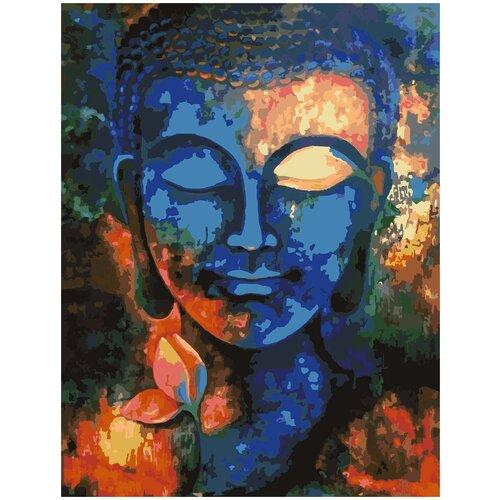 Купить Картина по номерам Будда арт, 60 х 70 см, Красиво Красим, Картины по номерам и контурам