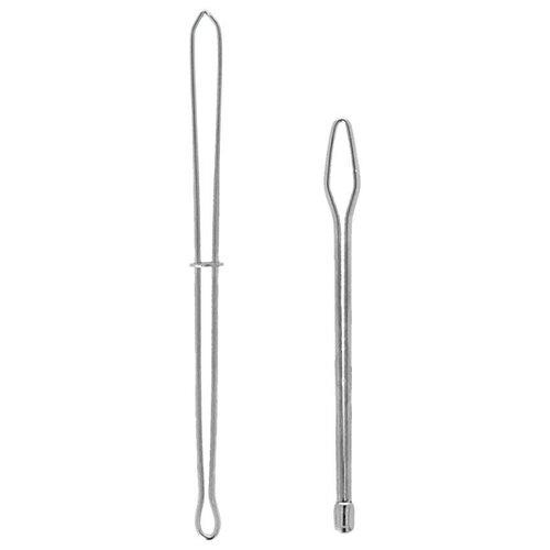 Купить Hemline Шпильки для продевания лент и резинок, 2 шт. серебристый, Инструменты и аксессуары