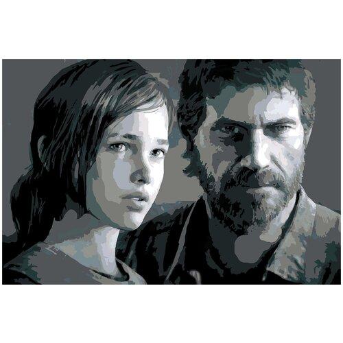 Купить Картина по номерам The Last of Us, 80 х 120 см, Красиво Красим, Картины по номерам и контурам
