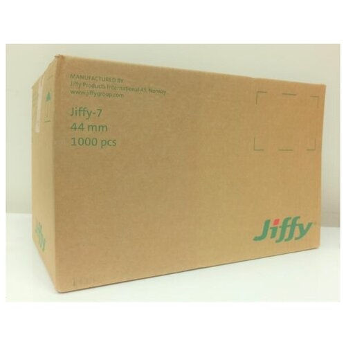 Торфяные таблетки Jiffy 7; диаметр 44 мм; 1000 шт/кор