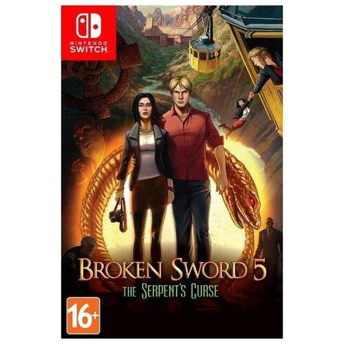 Игра Broken Sword 5: The Serpent's Curse (Сломанный Меч 5 - Проклятие Змея) Русская Версия (Switch)