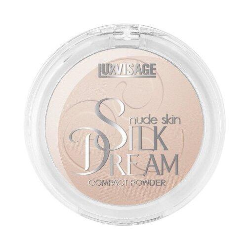 LUXVISAGE пудра компактная Silk Dream Nude Skin №04 Розовый беж luxvisage шелковистые румяна silk dream терракот 5