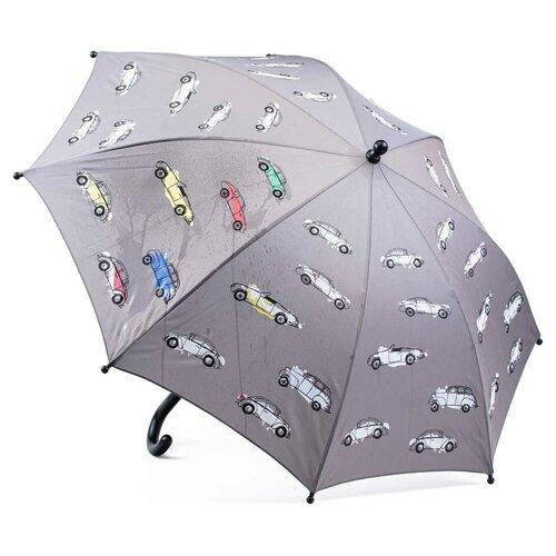 Зонты для мальчиков котофей 03707093-00 размер детский цвет серый