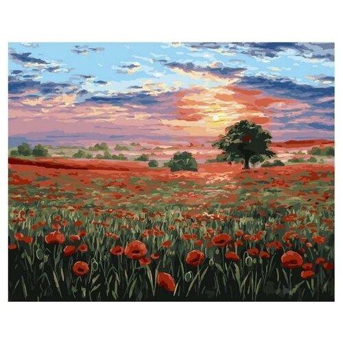 Картина по номерам GX 34860 Маковое поле 40*50 картина по номерам flamingo маковое поле 3991234 40 х 50 см