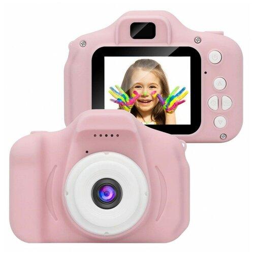 Фото - Детский фотоаппарат Kids Camera розовый детский цифровой фотоаппарат собачка розовый kids camera pink